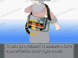 Pokemon HeartGold Items