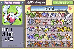 Pokemon Sapphire Screenshot