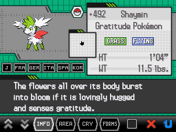 Pokemon White Screenshot