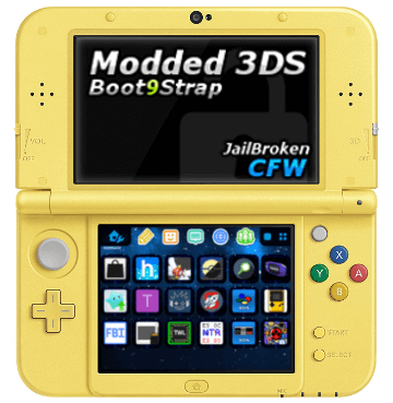 Buy Modded New 3DS XL Pikachu Yellow - PokEdit
