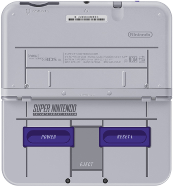 Buy Modded n3DS XL Super NES Edition - PokEdit